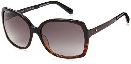 Kate Spade Women's Darilynn Square Sunglasses, Black Tortoise Fade & Gray Gradient, 58 - Stores Eyeglasses York New