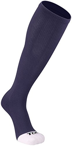 TCK Prosport Performance Tube Socks (Navy, Medium) (Rugby Womens Navy)