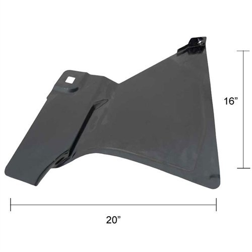 Footwell (Kick Panel) - LH - 73-87 Chevy GMC Truck; 73-91 Blazer Jimmy - Panel Gmc Kick Pickup