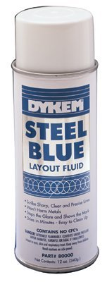- Layout Fluids, 16 oz Aerosol Can, Blue (12 Pack)