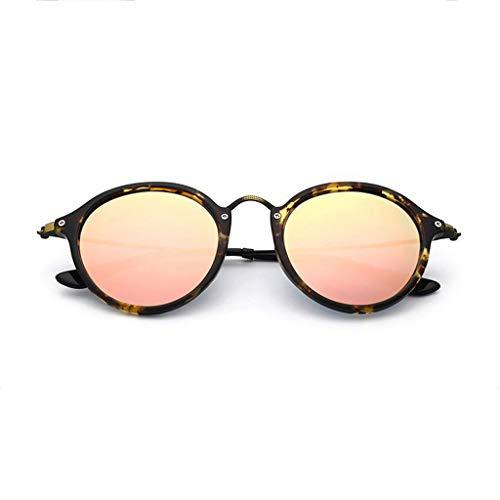 Espejo Aviador sol Gafas Nuevas UV de Running Hombres Redondo polarizadas de para conducción I Vogue wAwrEq5vx