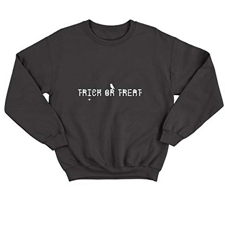 (Halloween Trick-Or-Treat Candies Kids Prank_006293 Sweater Crewneck Sweatshirt Pullover Unisex 2XL)