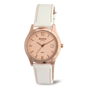 3234-01 Ladies Boccia Titanium Watch with Rose Gold Dial