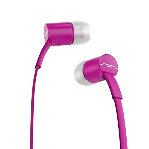 SOL REPUBLIC 1112-58 Jax In-Ear Headphones with Single-Button Remote and Microphone, Violet