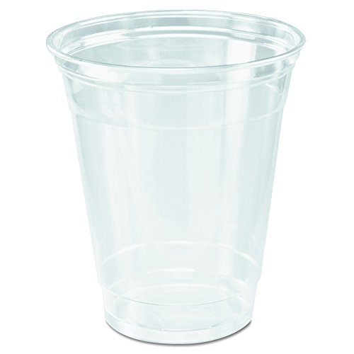 Solo TP12 PETE Ultra Clear Cold Drink Cup, 12 oz Size, Clear (20 Packs of 50)
