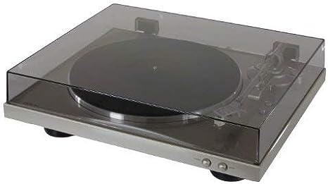 Denon DP-300F - DP300 Plato Tocadiscos Silver: Amazon.es: Electrónica