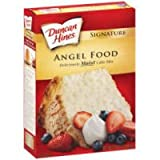 Duncan Hines Signature Cake Mix Angel Food 16 oz (Pack of 12)