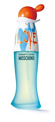 Love Fresh Flowers - I Love Love Cheap and Chic by Moschino For Women. Eau De Toilette Spray 1.7 Ounces