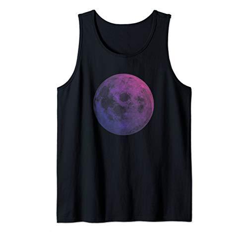 - Pastel Moon Goth Shirt Nu Goth Witch Goddess La Luna Lune Tank Top