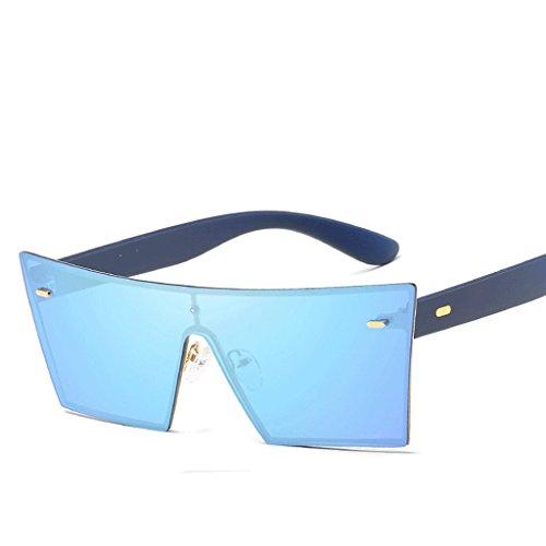 Hombre cuadradas Unisex polarizadas de HUACANG clásicas Gafas de para Sol Gafas Sol gZTYw