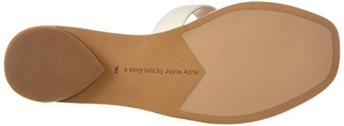 Avec Les Filles Womens Blaye Flat Sandal Off White Nappa