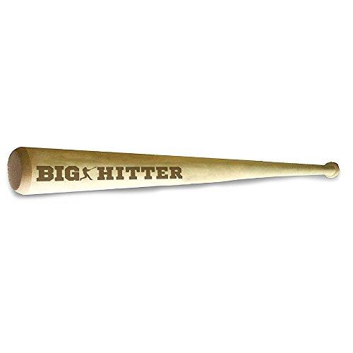 Hat Shark Wood Mini Custom Baseball Positions Laser Engraved Bat Wedding Groomsman Favor Ring Bearer Gift (BIG HITTER)