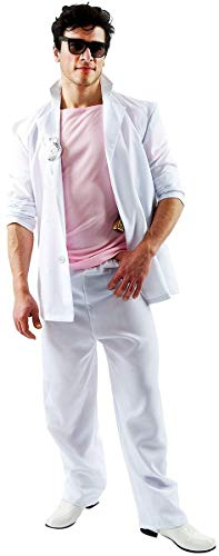 90's Tv Show Halloween Costumes (Adult Florida Detective (Pink and White))