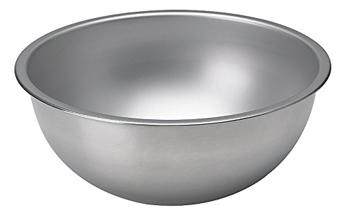 Vollrath COMINHKPR148983 1/2-Qt. Heavy-Duty Stainless Steel Mixing Bowl, 1/2 Quart Silver (Mixing Bowl Vollrath)