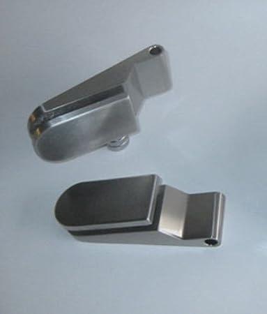 DIN links mit Beschlag inkl BM4-709L-BB: Glasdreht/ür Siebdruck M4 ESG Glas 709x1972x8mm Schlosskasten BB Buntbart