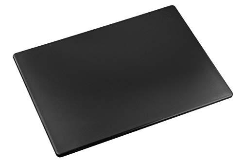 Commercial Plastic Cutting Board, NSF - 20 x 15 x 1/2 Inch (Black)