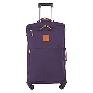 Bric's Luggage X-Bag 25 Inch Lightweight Spinner (25-Inch, Lavender)