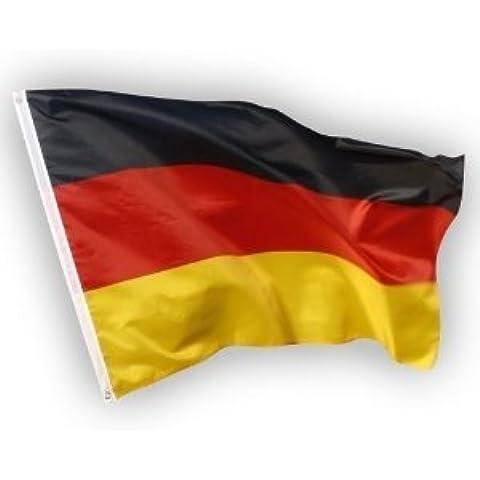 FLAGGE DEUTSCHLAND MIT ADLER 250x150cm flaggen DEUTSCHE FAHNE  150 x 250 cm