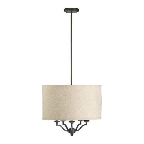 quorum-international-8096-5-86-atwood-collection-5-light-pendant-oiled-bronze-finish-with-linen-fabr