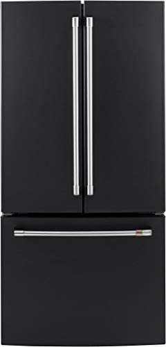 - Ge Cafe CWE19SP3ND1 Matte Collection Series 33 Inch Counter Depth French Door Refrigerator
