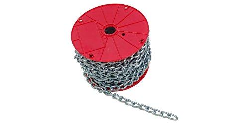 (#2X150' Machine Chain Twist Link ElectroGalvanized)