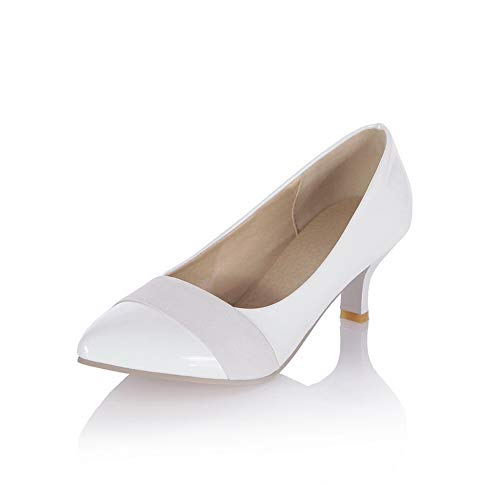 White Womens Urethane Travel Assorted Fashion Pumps BalaMasa APL10393 Colors Shoes zF6dUzq