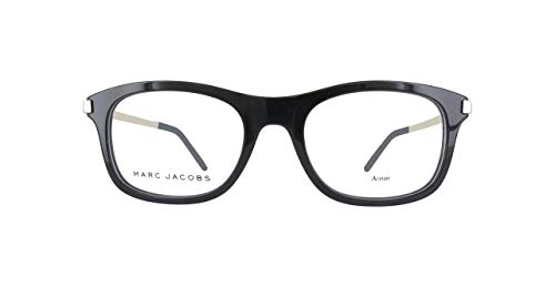 Optical frame Marc Jacobs Acetate Black - Silver (MARC 141 CSA) ()