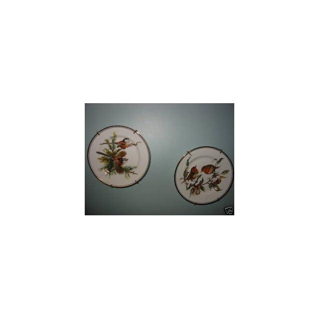 Royal Staffordshire Bone China Bird Plate