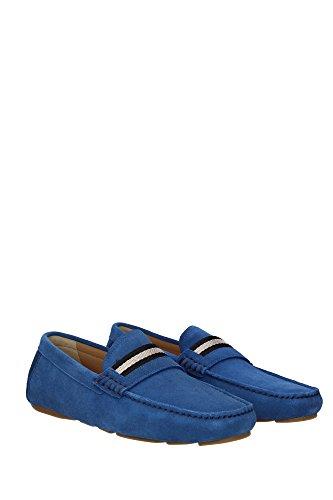 Mocassins Bally Homme - (WABLER4666190610) EU Bleu rz3uL