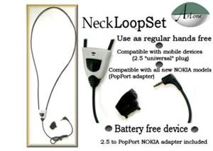 Cell Phone Neckloop (Artone Hands-free Cell Phone Inductive Neckloop)