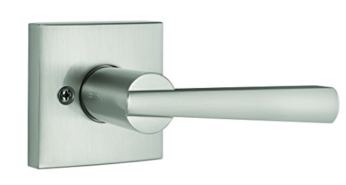glass Half-Dummy Lever in Satin Nickel (Baldwin Hardware Contemporary Series)