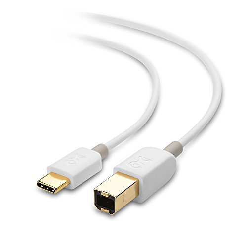 Cable Matters USB C Printer Cable (USB C to USB B/USB-C to Printer) in White 3.3 Feet