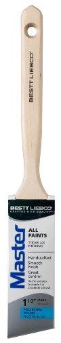 Bestt Liebco 552566200 Master 1.5-Inch Angle Sash Purdy Nylon Angle Paint Brush