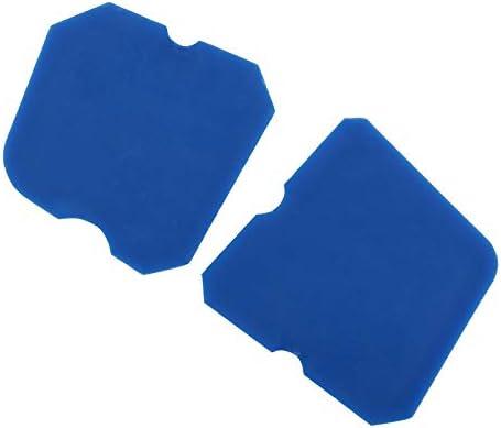 Yhtumn esp/átula 1 Juego de 4 esp/átulas para calafatear Juntas de Silicona Pegamento de Vidrio rascador de lechada raspador de Azulejos Rojo