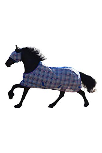 (Kensington Platinum Protective Fly Sheet-Surefit, Patriot Plaid, Size 75)