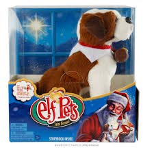 Elf on The Shelf EPSB Pets: A St. Bernard Tradition -