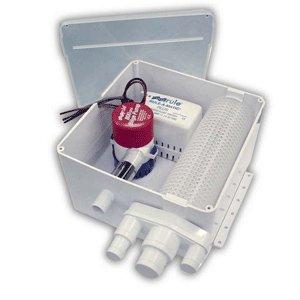 Rule Multi Port Shower Drain System - 24v
