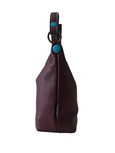 l'épaule x H P Violet porter a 12 cm GABS base sacca à Chiusa L 28 x à cm 22 bordeaux pour femme cm Sac TqwwYR1