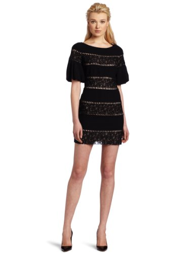 Tracy Reese Women's Lace Inset Shift Dress