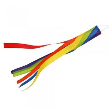 Windsack - 100 SPIRAL - UV-beständig und wetterfest - Ø11cm, Länge: 100cm - inkl. Kugellagerwirbelclip
