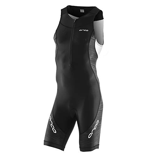 Suit Core Race - ORCA Men's Core Tri Race Suit (Black/White, Large)