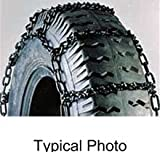 EAMRTC2829 * Titan Chain Snow Tire Chains - Ladder Pattern - V-Bar Links - 1 Pair (for Light Trucks)