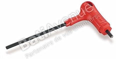SAM Outillage 60-PTJ8 Jeu de 8 clés males poignée en T 6 pans de 2 à 10 mm
