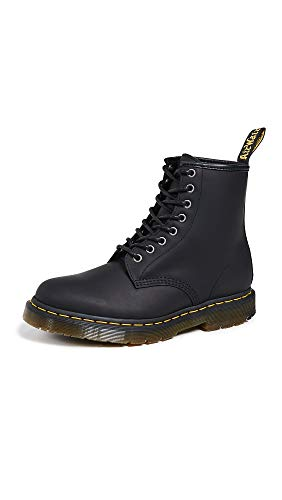 Dr. Martens Men's 1460 Snow Boot, Black, 11 Medium UK (12 US)