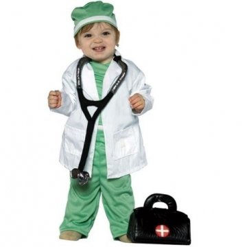 [Future Doctor Costume - Toddler] (Doctor Costumes For Toddlers)