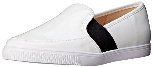 Negen West-womens Bonkers Synthetische Mode Sneaker Wit / Zwart