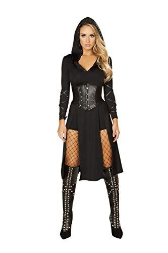 The Queens Assassin Costume Black -