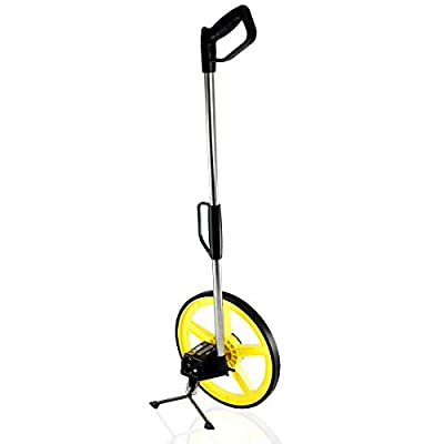 TR Industrial 88016 FX Series Collapsible Measuring Wheel, Yellow/Black by Capri Tools