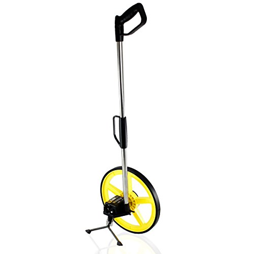 TR Industrial 88016 FX Series Collapsible Measuring Wheel, Yellow/Black (Measuring Metric Wheel)