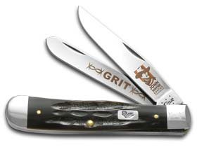 Case Buffalo Horn John Wayne Trapper Pocket Knife by Case (Image #2)